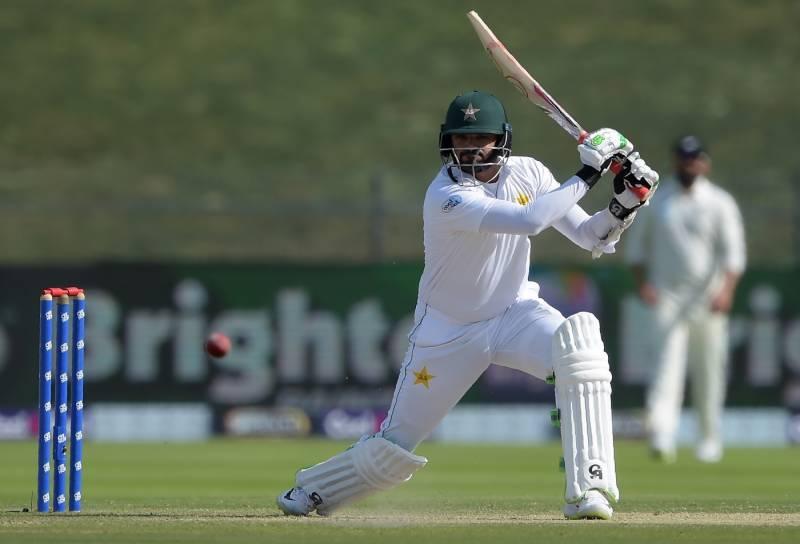 ابوظہبی ٹیسٹ:پاکستانی ٹیم پہلی اننگز میں 227 رنز پر آؤٹ