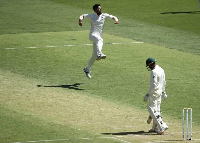 پرتھ ٹیسٹ :آسٹریلیا نے پہلے روز بھارت کیخلاف 6 وکٹوں پر 277 رنز بنا لیے