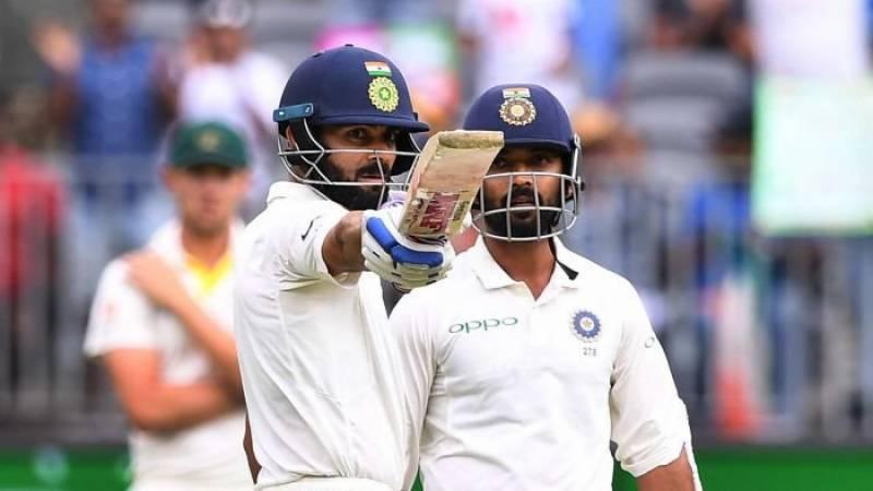 دوسرا ٹیسٹ، بھارت نےآسٹریلیا کیخلاف پہلی اننگز میں 3 وکٹوں پر 172 رنز بنا لئے
