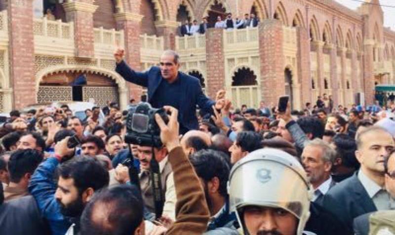 سعد رفیق گرفتاری کے بعد پہلی باراجلاس میں شریک ہوں گے