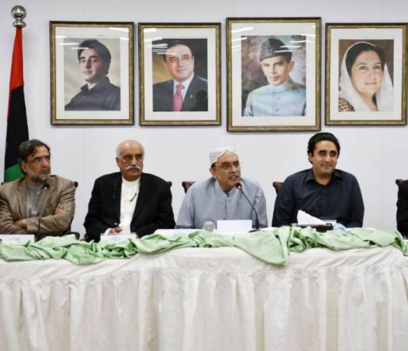 ہمارے خلاف لگائے جانے والے تمام الزامات جھوٹے اور بے بنیاد ہیں، آصف علی زرداری