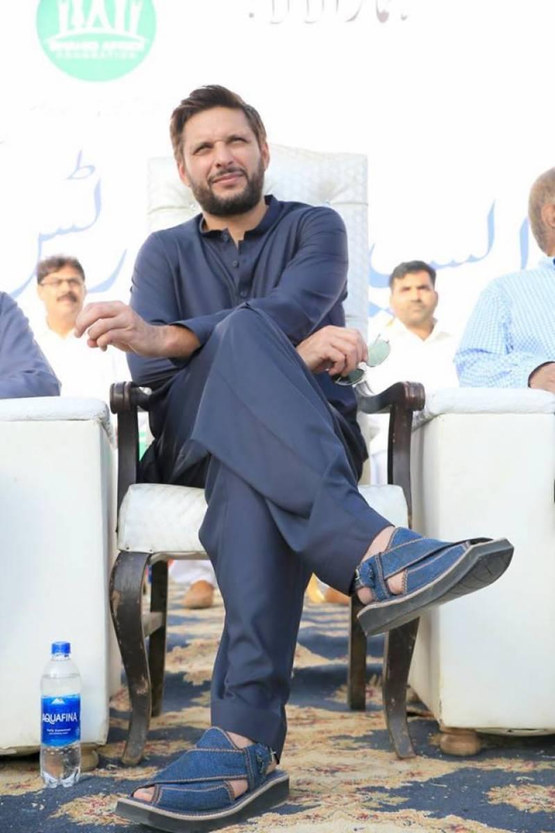 آنے والا نیا سال پاکستان کی ترقی کے لئے انتہائی اہمیت کا حامل ہے:شاہد آفریدی