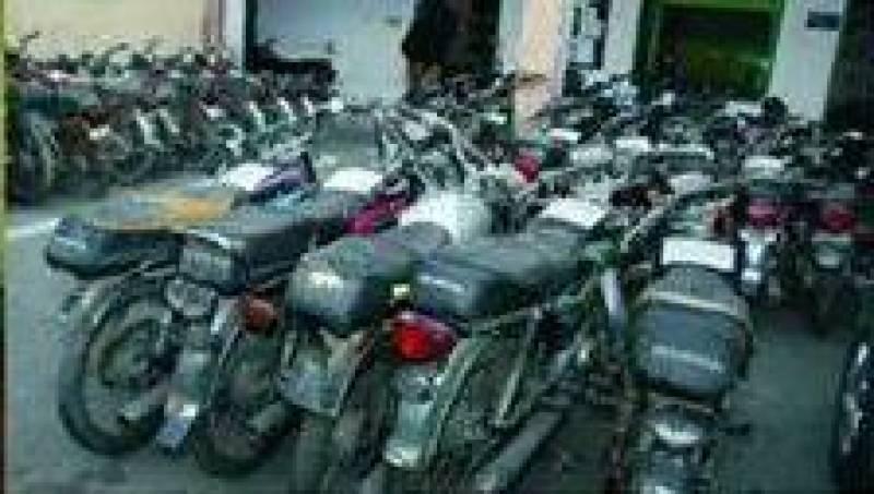 مکہ مکرمہ میں موٹرسائیکلوں کو سکریپ میں فروخت کیا جاتاہے ، ذرائع