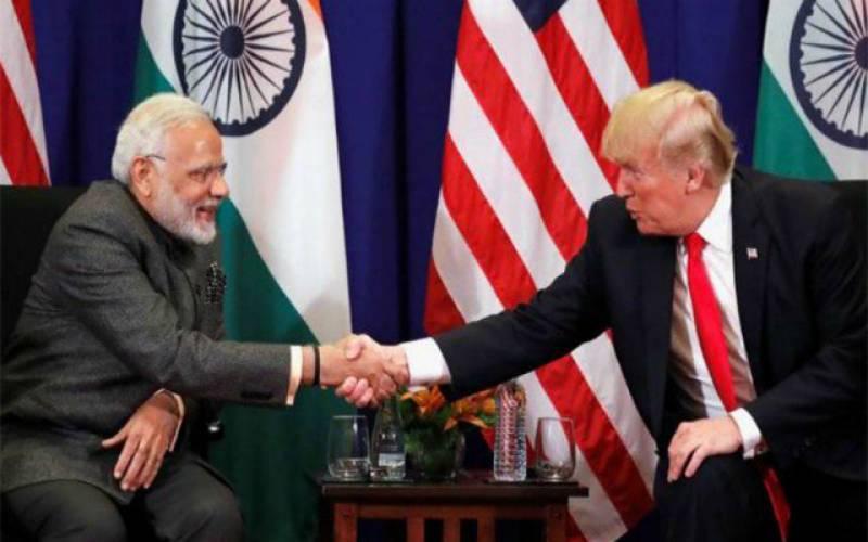 امریکی صدر اور بھارتی وزیراعظم کے درمیان ٹیلی فونک رابطہ ، تجارتی خسارے میں کمی ، افغانستان پر بات چیت