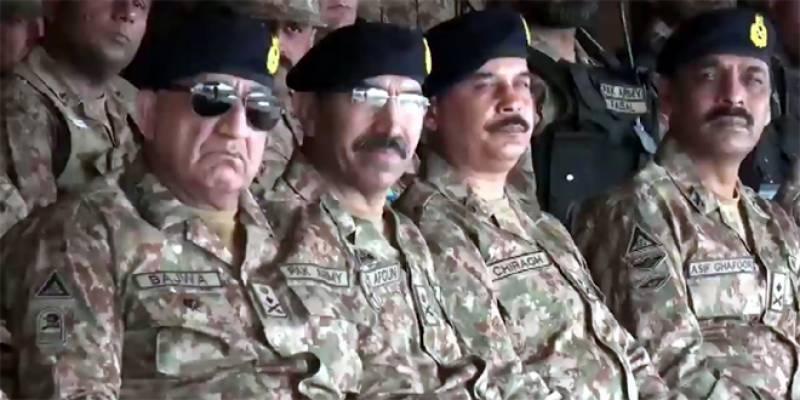 پاکستان بابائے قوم کے وژن کے تحت امن چاہتا ہے:آرمی چیف
