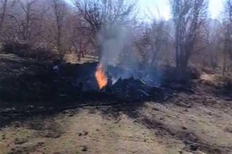 پاک فضائیہ کا طیارہ مستونگ میں گر کر تباہ، پائلٹ شہید