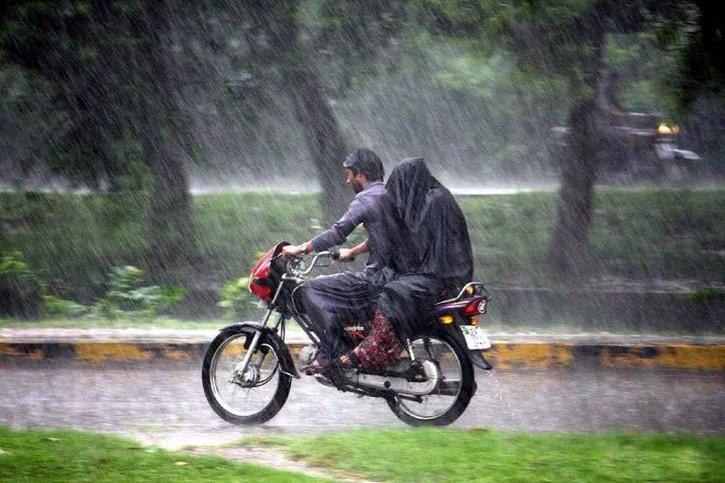 ملک میں جاری بارش کا سلسلہ آج تھم جائیگا، محکمہ موسمیات