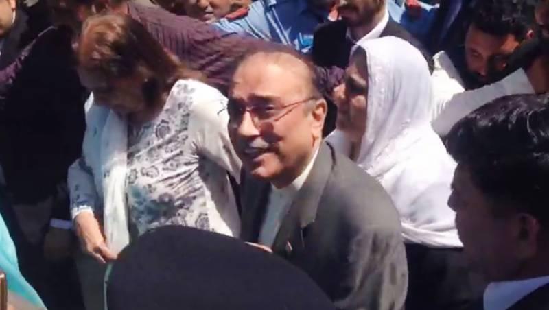 زرداری اور فریال تالپور کی ضمانت میں 29 اپریل تک توسیع کر دی گئی
