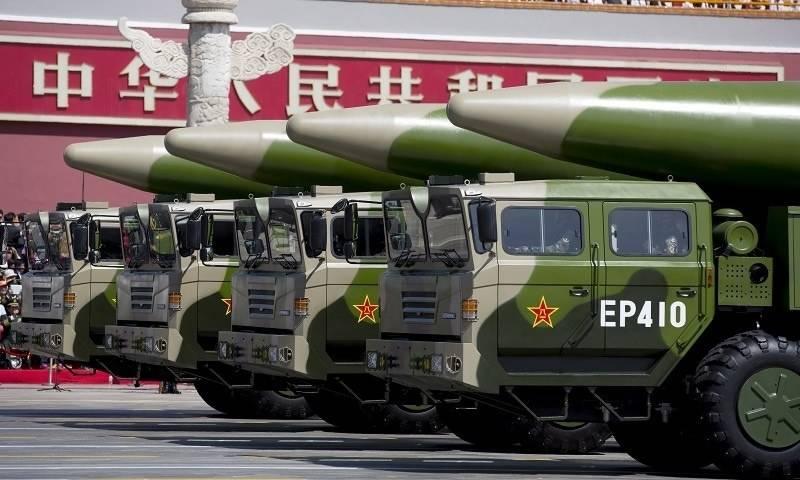 چین نے جدید ہائپر سونک میزائل ٹیکنالوجی میں امریکہ کو پیچھے چھوڑ دیا