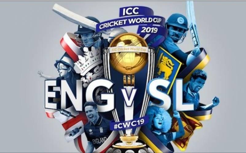 کرکٹ ورلڈ کپ میں آج انگلینڈ اور سری لنکا کے درمیان میچ کھیلا جائیگا