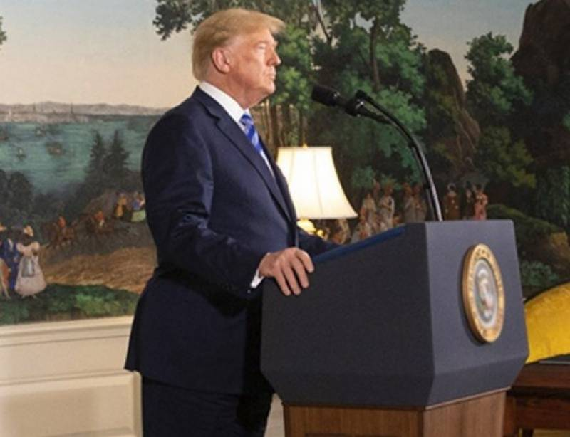 ڈونلڈ ٹرمپ نے ایران پر حملہ کرنے کا حکم دیدیا تھا، لیکن بعد میں واپس لے لیا، امریکی جریدہ