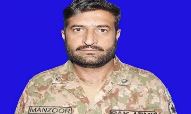بھارتی فوج کی ایک مرتبہ پھر ایل او سی کی خلاف ورزی،حوالدار منظور عباسی شہید