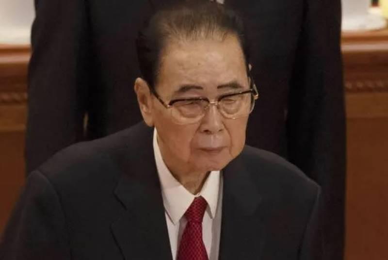 چین کے سابق وزیر اعظم لی پینگ انتقال کرگئے