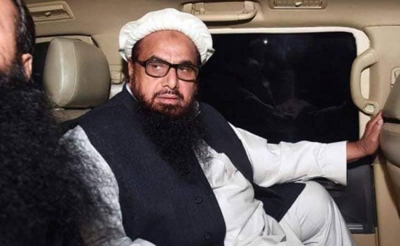 عدالت نے حافظ سعید کو جوڈیشل ریمانڈ پر جیل بھیج دیا