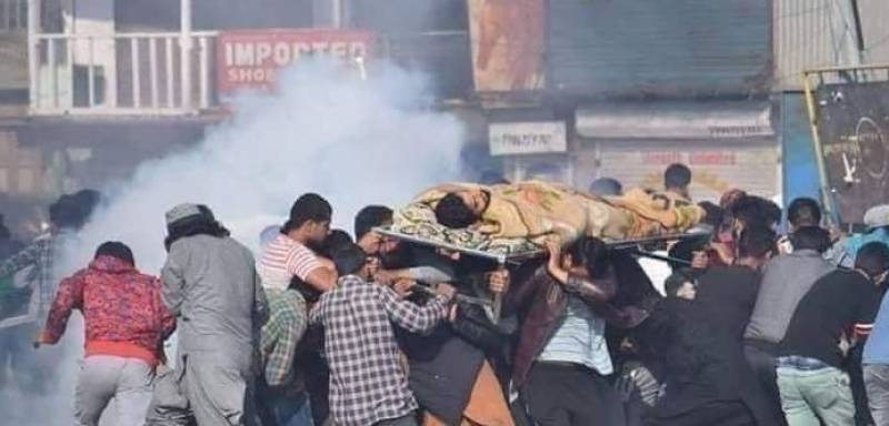 بھارتی فوج کی فائرنگ،مزید 7 کشمیری نوجوان شہید