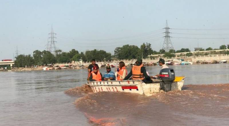 بھارت نے دریائے ستلج میں پانی چھوڑ دیا, متعدد دیہات زیر آب آ گئے