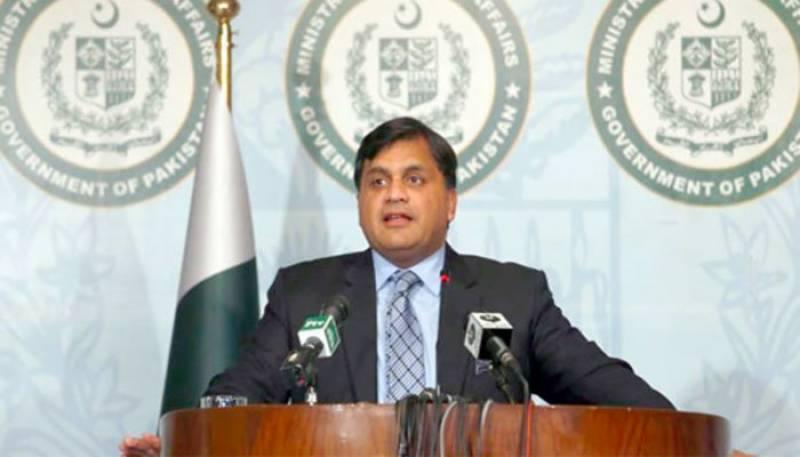 مقبوضہ کشمیر میں ڈیڑھ کروڑ لوگوں کی زندگیاں خطرے میں ہیں، ترجمان دفتر خارجہ