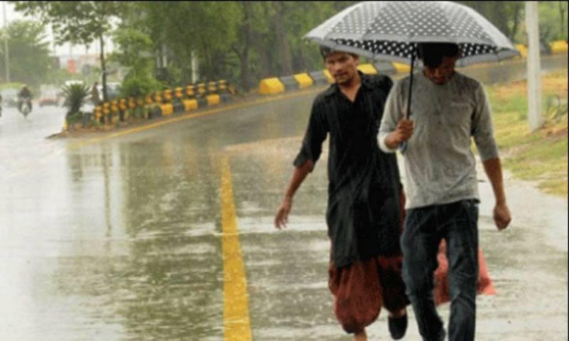 ملک میں بعض مقامات پر بارش کا امکان