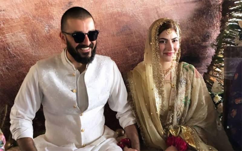 حمزہ علی عباسی اور نیمل خاور رشتہ ازدواج میں منسلک
