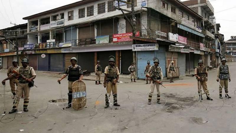 مقبوضہ کشمیر میں 29 ویں روز بھی کرفیو برقرار