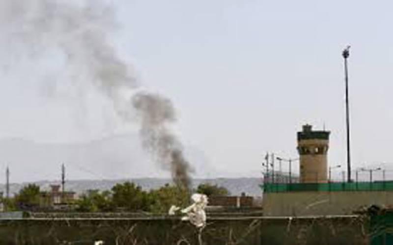 افغانستان میں امریکی سفارتخانے پر راکٹ حملہ