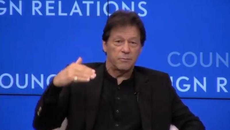 پاکستان نے امریکا کی جنگ میں شامل ہو کر غلطی کی, وزیر اعظم عمران خان