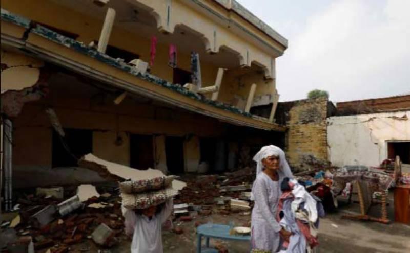 آزاد کشمیر میں زلزلے سے تباہی، ہلاکتوں کی تعداد 37 ہو گئی