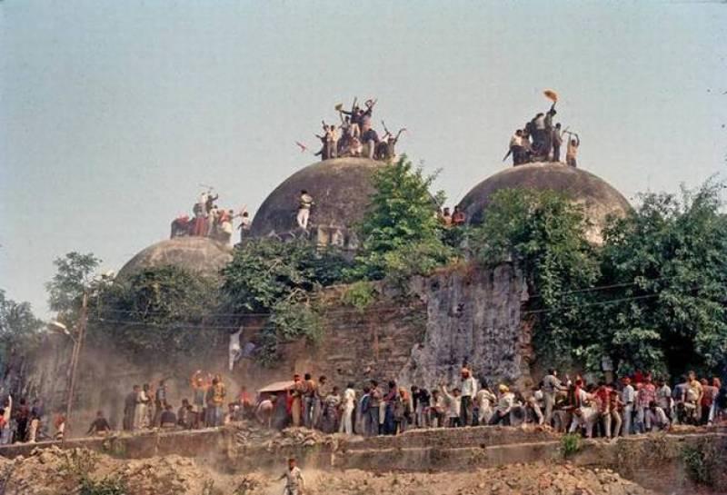 بھارت کا بابری مسجد کی جگہ فوری طور پر رام مندر تعمیر کرنے کا فیصلہ