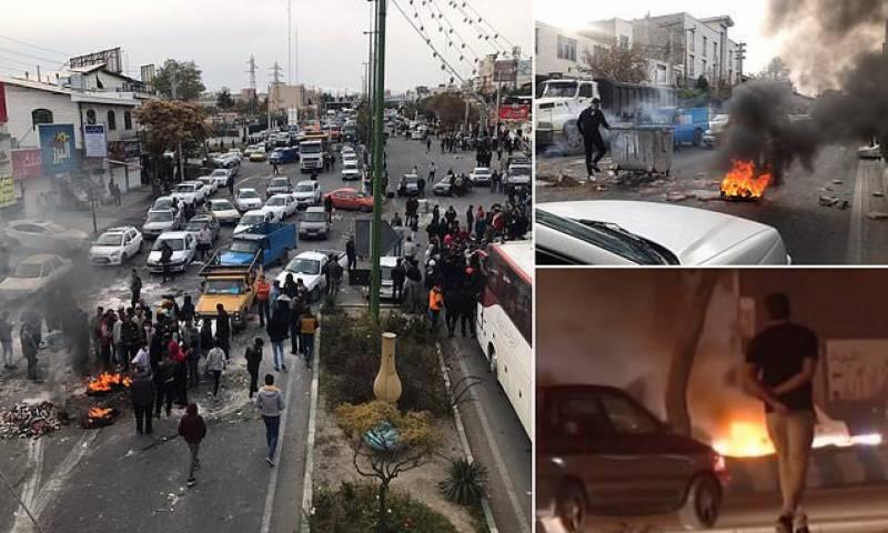 پٹرول کی قیمتو ں میں اضافہ،ایران میں 12 افراد ہلاک