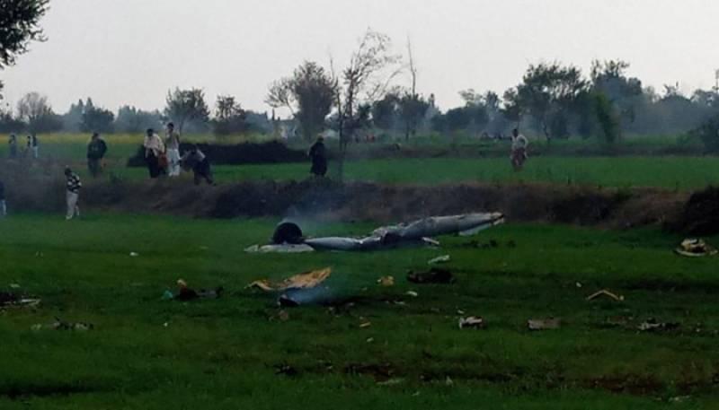 پاک فضائیہ کا تربیتی طیارہ گر کر تباہ، 2 پائلٹ شہید