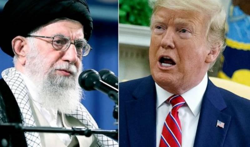 امریکہ اور یورپ پر تنقید، ٹرمپ کی ایرانی سپریم لیڈر کو سخت تنبیہ
