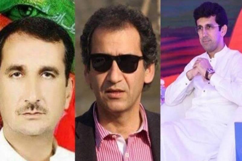 عاطف خان، شہرام ترکئی اور شکیل خان کو برطرف کر دیا گیا