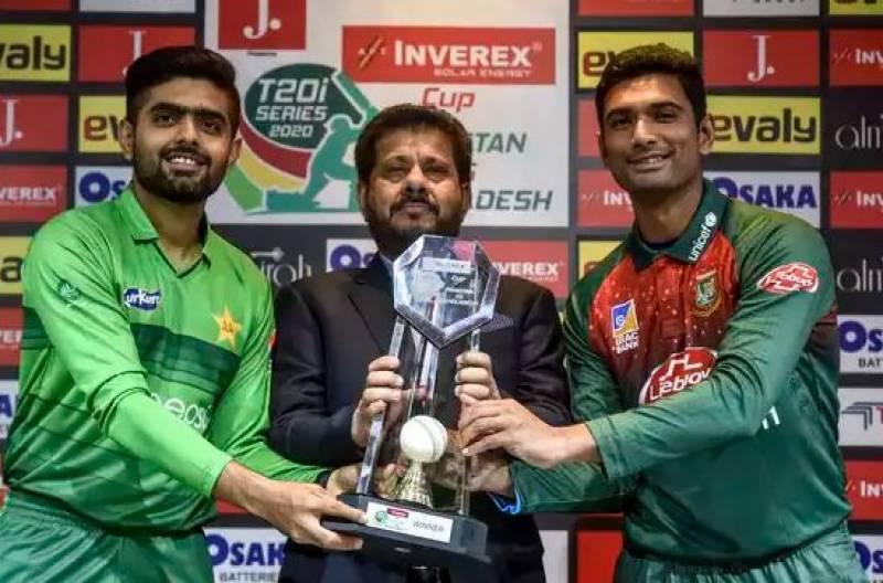 بنگلہ دیش کیخلاف آخری ٹی 20آج،گرین شرٹس کو رینکنگ میں پہلی پوزیشن بچانے کیلئے لازمی فتح درکار