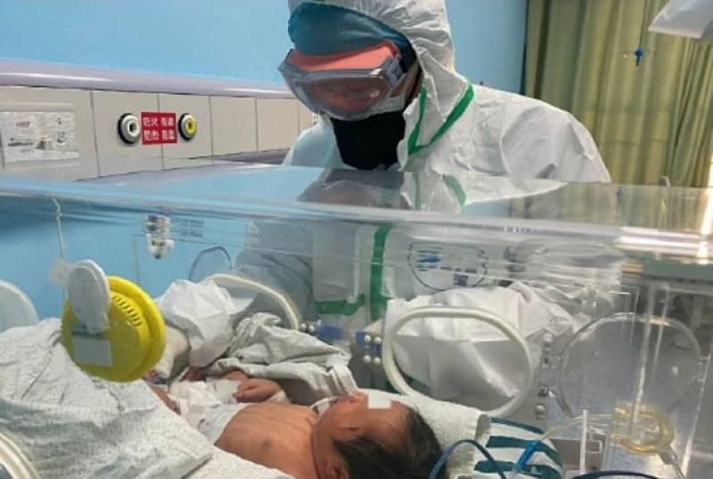 نومولود بچے میں کورونا وائرس کی تشخیص