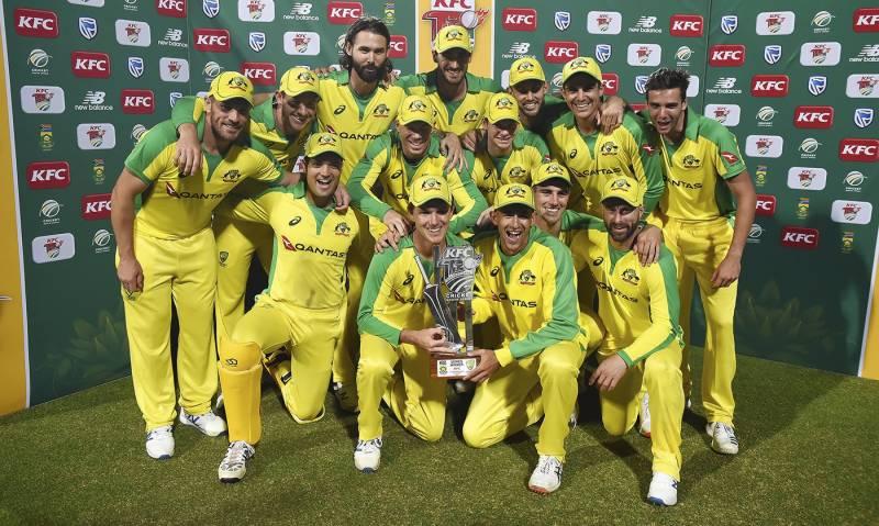 آسٹریلیا نے جنوبی افریقن ٹیم کو تیسرے ٹی 20 میں ہرا کر سیریز جیت لی