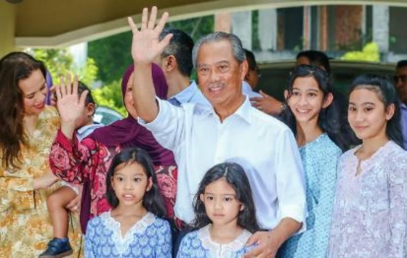 محی الدین یاسین ملائیشیا کے نئے وزیراعظم بن گئے، حلف اٹھالیا