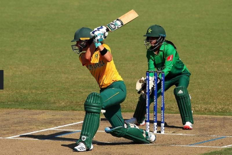 ویمن ورلڈ کپ ، جنوبی افریقہ نے پاکستان کو 17رنز سے شکست دیدی