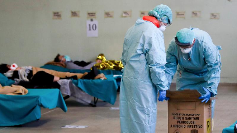 اٹلی میں ایک ہی روز میں کورونا وائرس سے 475 افراد ہلاک