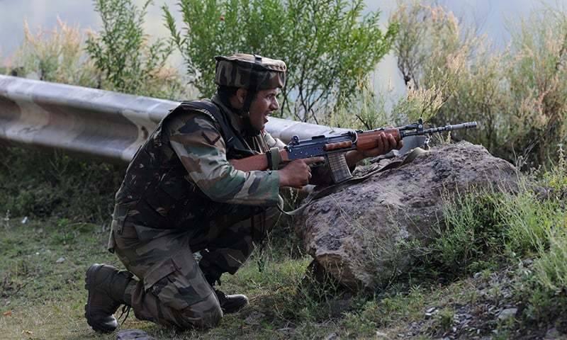 بھارتی فوج کی شاردہ، ددنیال سیکٹرز پر بلااشتعال فائرنگ، 4 شہری زخمی