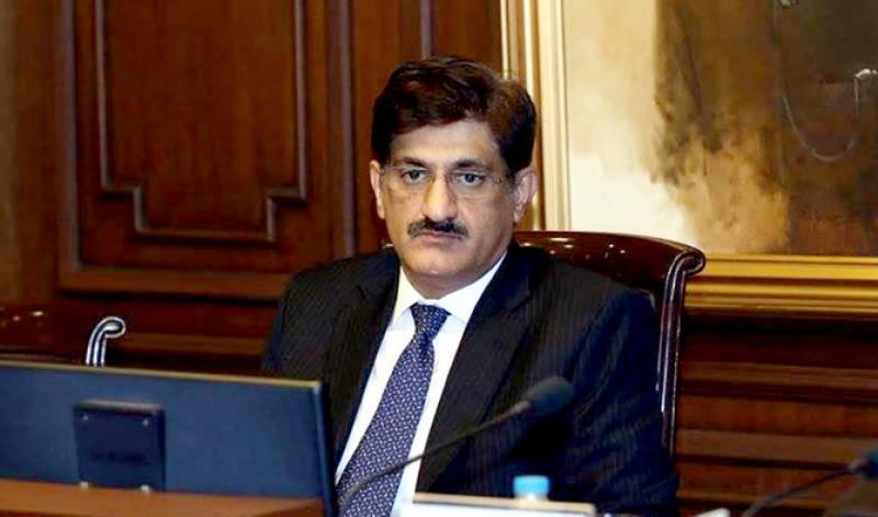 سندھ میں کورونا کے پھیلاؤ کی شرح 12 سے 8.15 فیصد ہوگئی، مراد علی شاہ