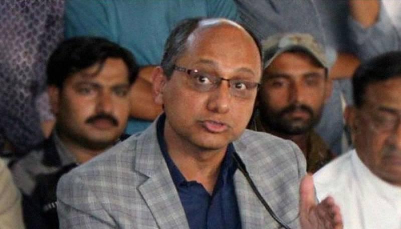 علی زیدی نے شوکت خانم کے 3 ملین ڈالر اپنے اکاؤنٹ میں منتقل کرائے، سعید غنی کا الزام