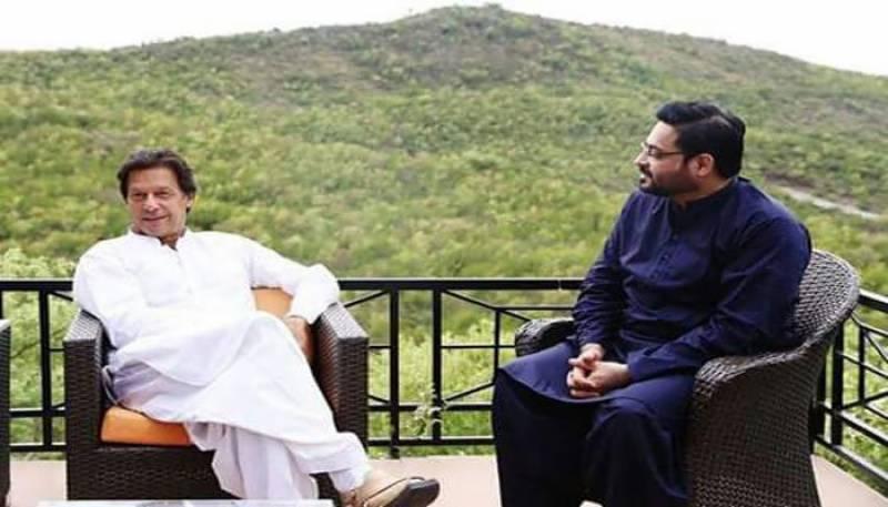 عامر لیاقت کا وزیراعظم عمران خان سے ملاقات میں استعفیٰ پیش کرنے کا اعلان