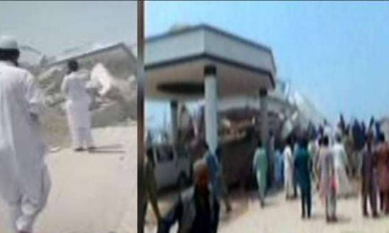 آزاد کشمیر: عمارت کے ملبے سے 20 افراد ریسکیو ، پانچ کی حالت تشویشناک