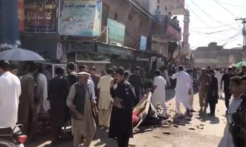 پاراچنار کے طوری بازار میں دھماکہ، متعدد افراد زخمی