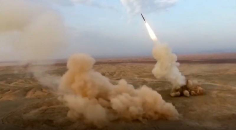 ایران کی جنوبی علاقے میں جنگی مشقیں جاری ، زمین میں دبے بیلسٹک میزائل کا کامیاب تجربہ