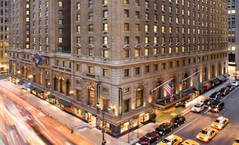 روز ویلٹ ہوٹل کیلئے 105 ملین ڈالر امداد کی منظوری