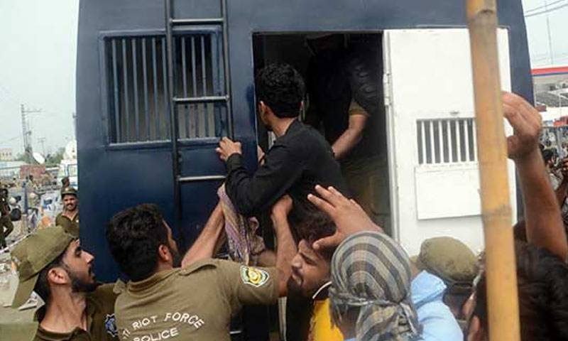 گرفتار لیگی کارکنوں کو 14 روزہ جوڈیشل ریمانڈ پر جیل بھیج دیا گیا