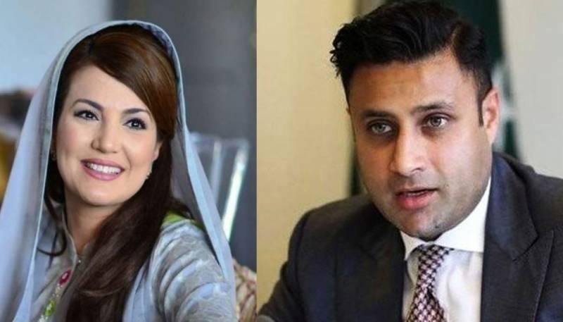 ذلفی بخاری نے ریحام خان پر ہتک عزت کا مقدمہ کر دیا