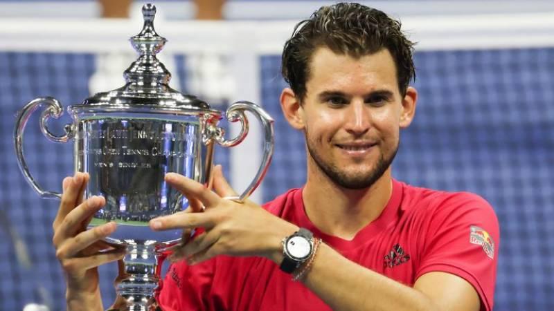 ڈومینک تھیم نے کیریئر کا پہلا گرینڈ سلام یو ایس اوپن ٹینس ٹورنامنٹ جیت لیا