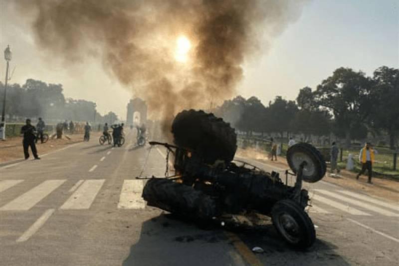 بھارت میں کسان متنازعہ بل ،احتجاج شدت اختیار کر گیا